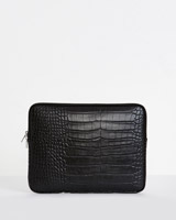black Carolyn Donnelly The Edit Laptop Case
