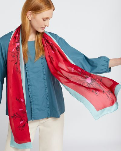 Carolyn Donnelly The Edit 100% Silk Pappus Scarf Gift Box