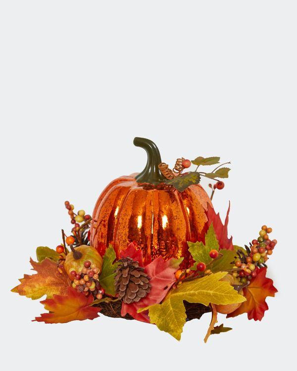 Light Up Pumpkin Centerpiece