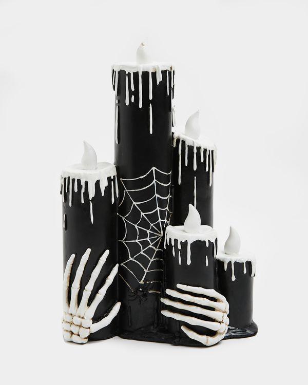 Trio Skeleton Candles