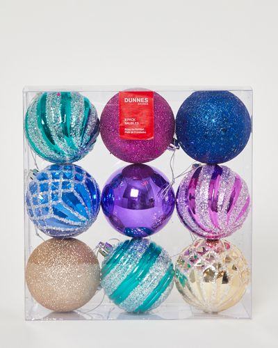 Baubles - Pack Of 9