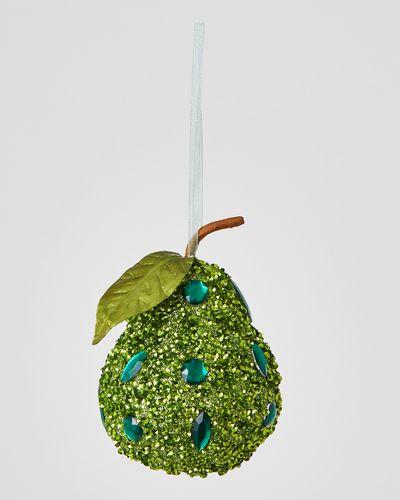 Beaded Fruit Decoration
