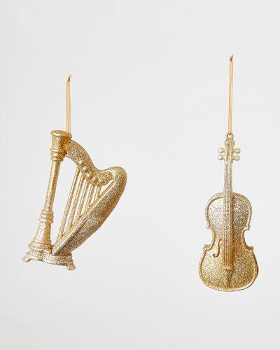 Glitter Instruments Ornament