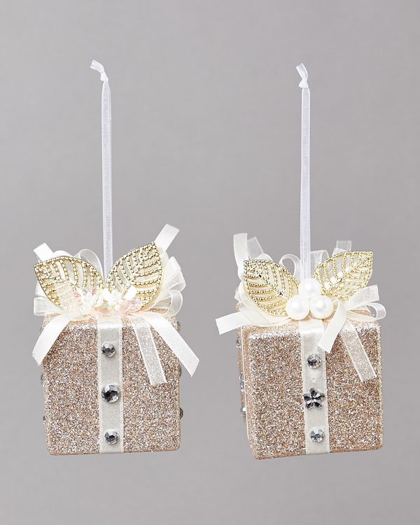 Gold Present - Pack Of 2