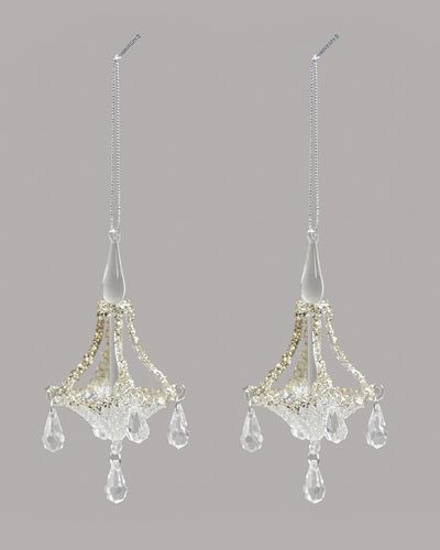 Glass Chandelier - Pack Of 2 thumbnail