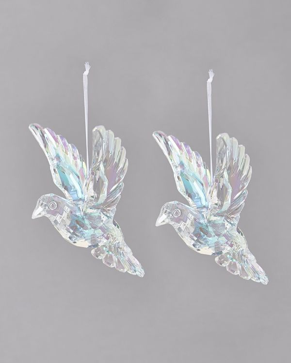 Dove decoration - Pack Of 2