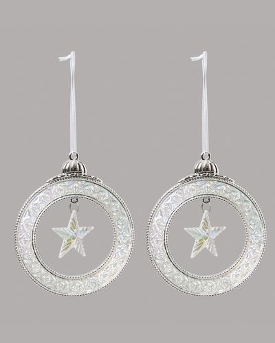 Hanging Star In Circle - Pack Of 2 thumbnail