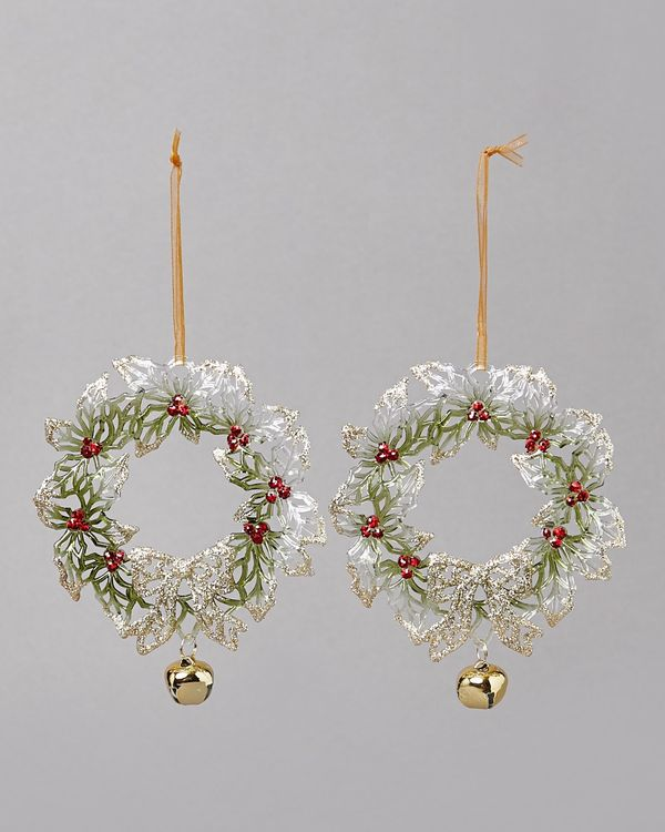 Wreath Decoration - Pack Of 2