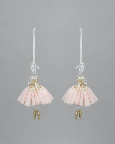 Ballerina Decorations - Pack Of 2