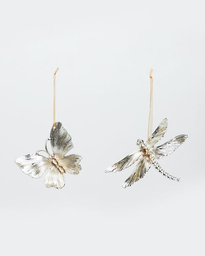 Butterfly And Dragonfly - Pack Of 2