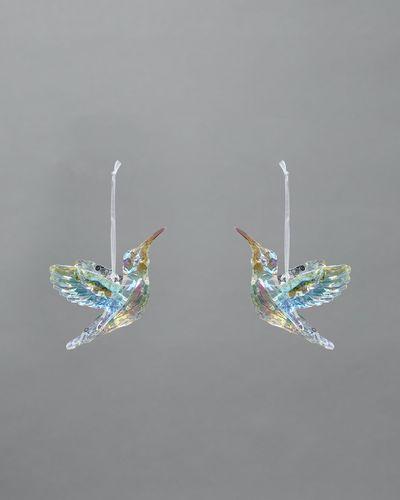 Hummingbird Decoration - Pack Of 2