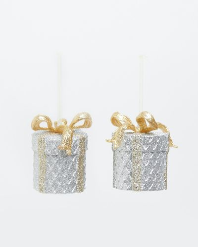 Present Decorations - Pack Of 2