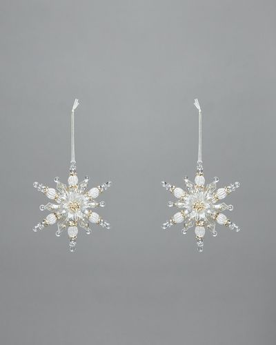 Gold Snowflake - Pack Of 2