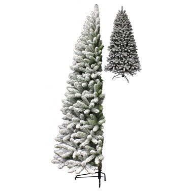 green 7ft Half Arctic Snow Tree