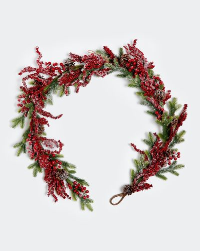Six Foot Red Berry Garland