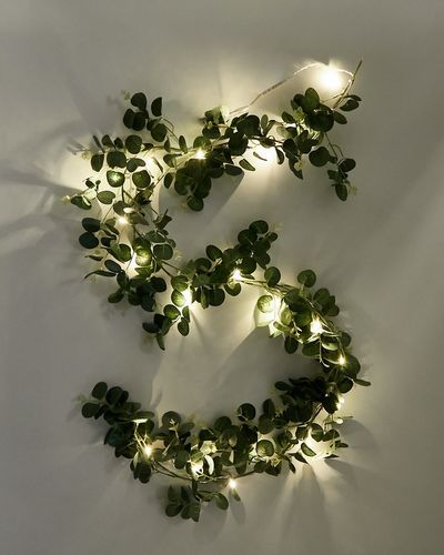 LED Eucalyptus Garland