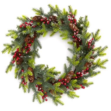 greenLED Wreath