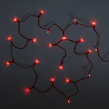 red Battery LED Lights - Pack of 20 (Indoor Use Only)
