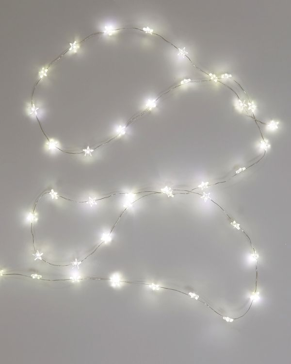 Star Filament Lights - Set Of 40 (Warm White Only)