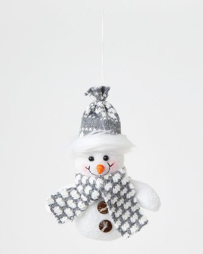 Plush Snowmen Decoration