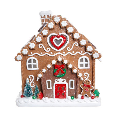 brown Large Gingerbread House