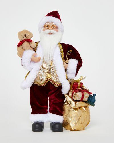 Santa Figurine With Presents