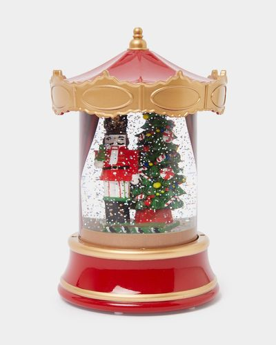 Nutcracker LED Water Globe