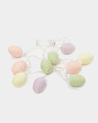 Stripe LED Egg Lights - Pack Of 10
