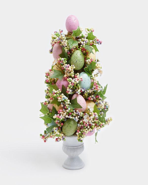 Floral And Egg Urn