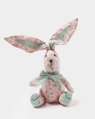 Floral Plush Bunny