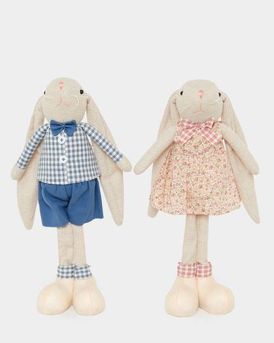 Standing Knit Bunny