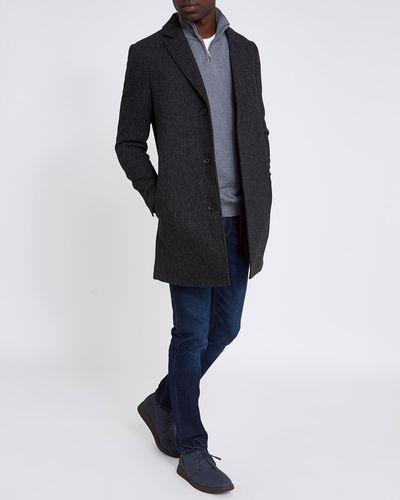 Twist Wool Blend Coat