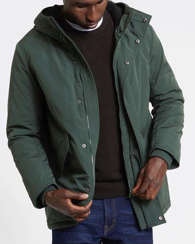 Parka Coat Green