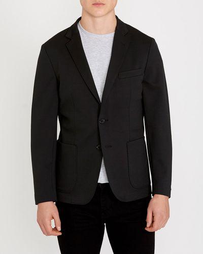 Black Jersey Blazer