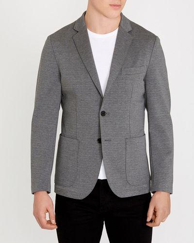 Charcoal Jersey Blazer