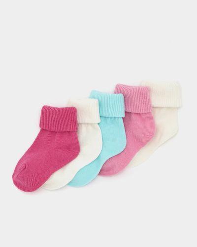 Baby Girls Tot Socks - Pack Of 5