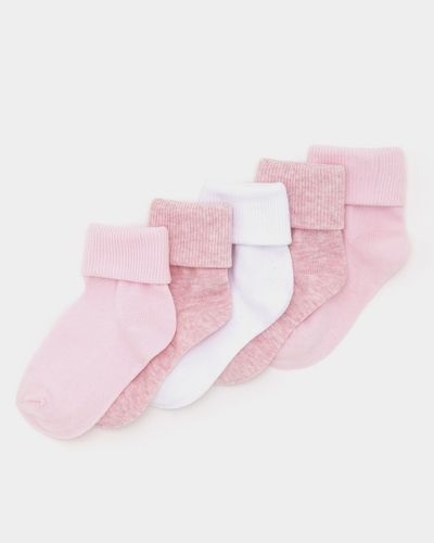 Baby Girls Tot Socks - Pack Of 5