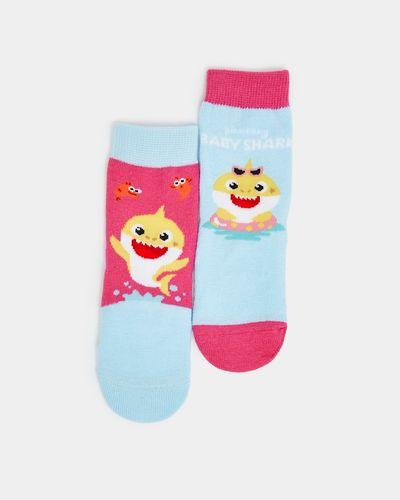 Baby  Baby Shark Sock - Pack Of 2