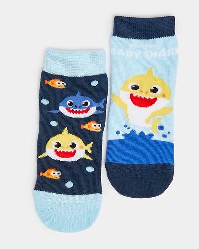 Baby Shark Socks - Pack Of 2