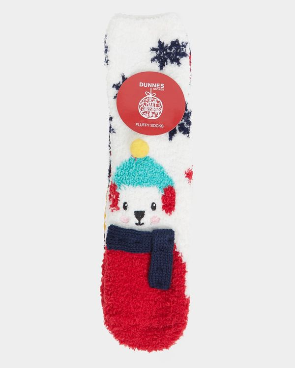 Girls Fluffy Socks - Pack Of 3
