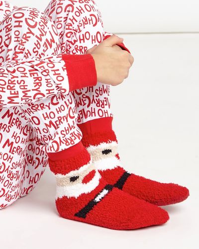 Boys Fluffy Socks - Pack Of 3 thumbnail