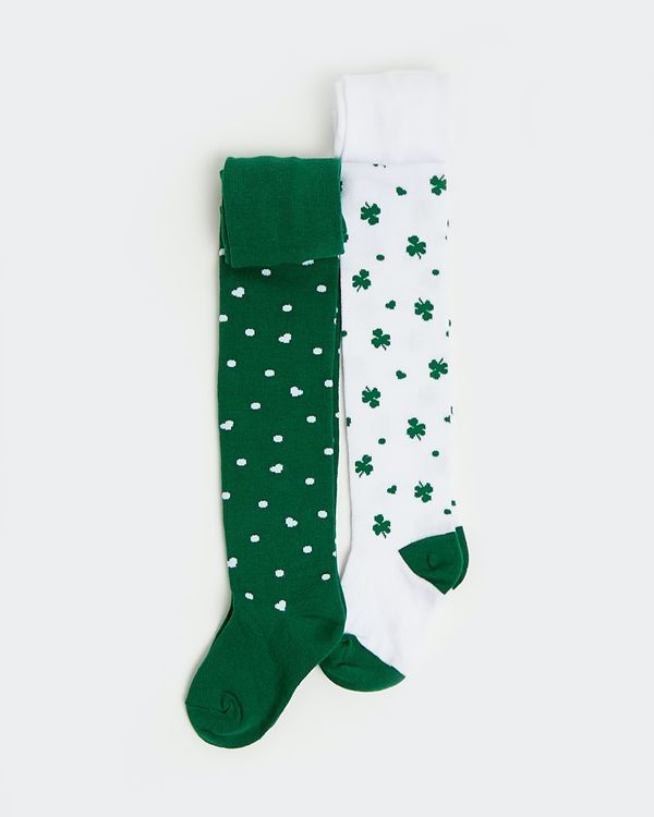 St Patrick's Day Tights - Pack Of 2