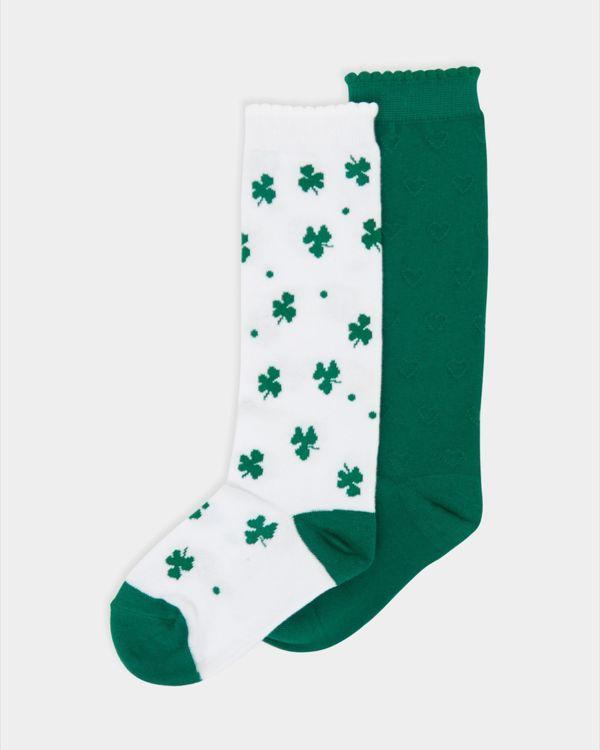 St Patrick's Day Socks