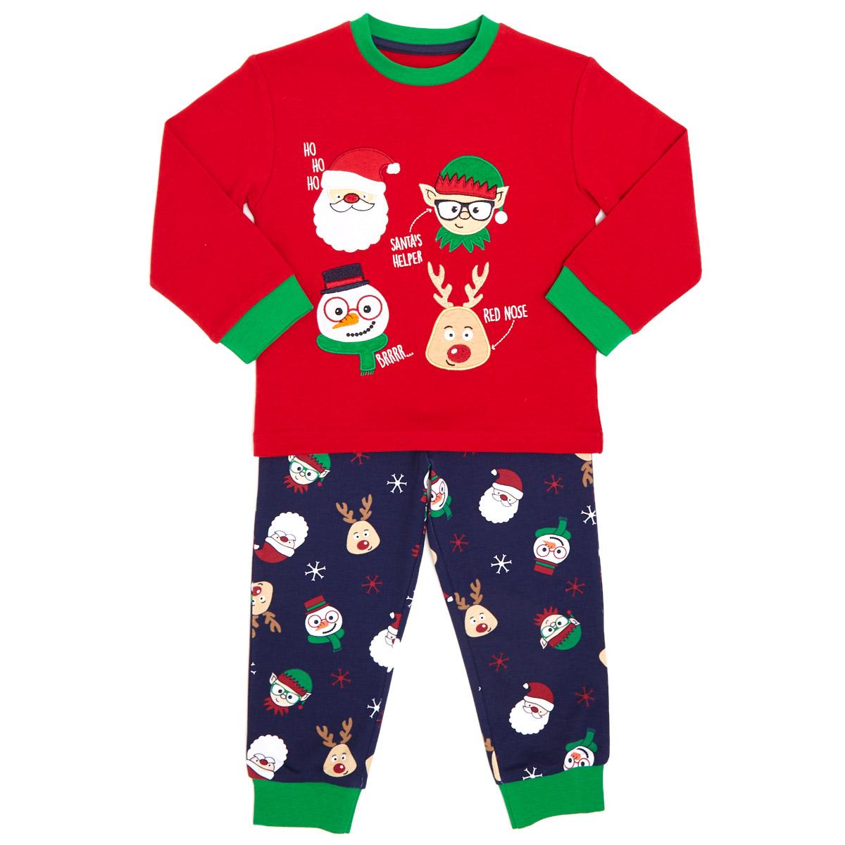 Boys Christmas Pajamas.Boys Christmas Pyjamas