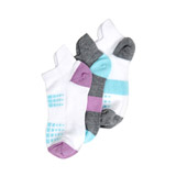 lilac Girls Performance Trainer Socks - Pack Of 3