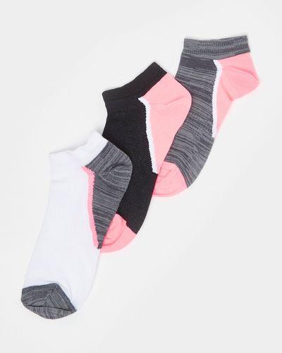 Girls Performance Trainer Socks - Pack Of 3