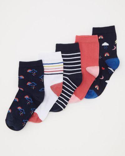 5Pk Design Socks thumbnail