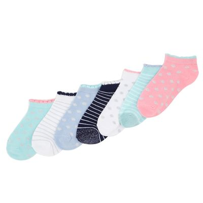Cotton Rich Trainer Liners - Pack Of 7 thumbnail