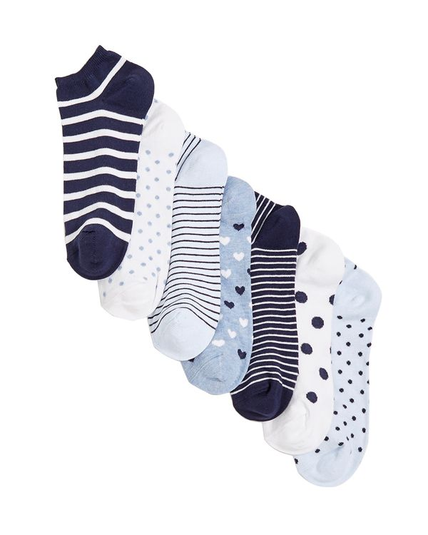 Cotton Rich Trainer Liners - Pack Of 7