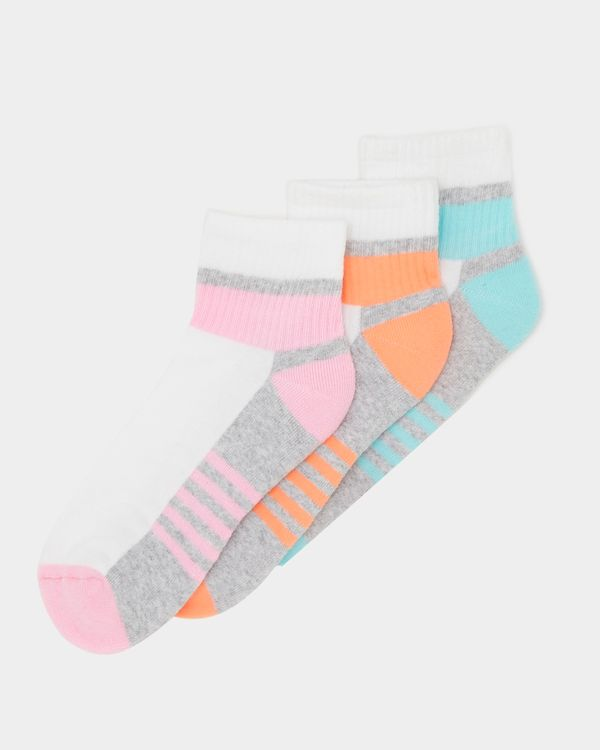 Sports Crew Sock - Pack Of 3